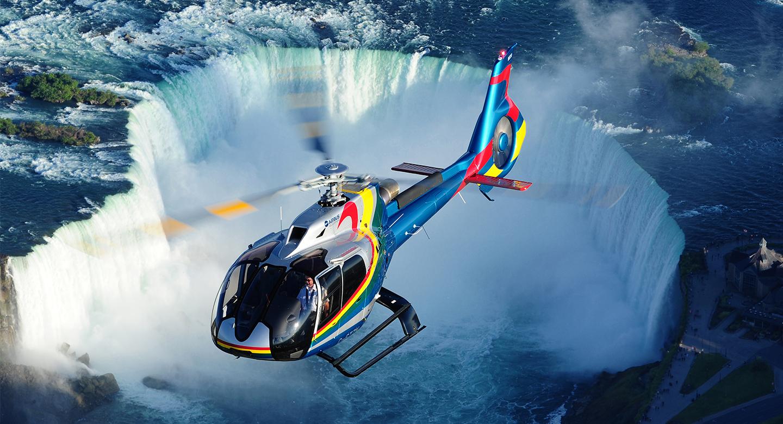Visitors to Niagara Falls